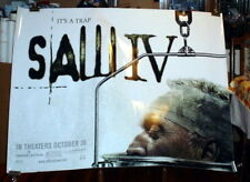 SAW 4 SAW IV 5FT subway movie  POSTER HUGE Rare