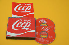 2CD (NO LP ) CCCP FEDELI ALLA LINEA ENJOY 1°ST ORIG 1994 EX CON LIBRETTO