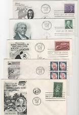 US FDC 1958 Year Set 22 First Day Covers All Cacheted All Unaddressed |