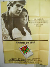 Love Story Large French Movie Poster 1970 Ali Macgraw  Ryan O'Neal