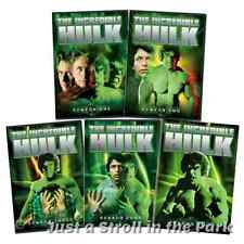 The Incredible Hulk Complete 1978 Series Seasons 1 2 3 4 5 Box/DVD Set(s) NEW!