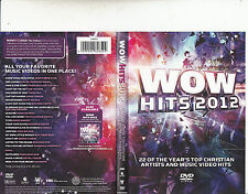 Wow Hits 2012-22 of The Year's Top Christian Artists -Music Tracks-DVD