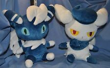 Meowstic Pokemon Pair DX Large Male and Female Stuffed Plush Dolls- MWTs