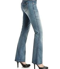 G by GUESS Women's Naomi Low rise Boot Cut – Faded Light Blue Jeans sz 24