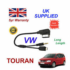VW TOURAN Micro USB & 3.5mm Aux input Audio Cable For Samsung HTC LG MP3 Nokia L