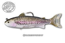 Live Target Adult Trout Swimbait Silver Violet 6.5in