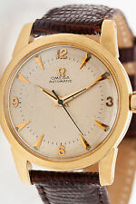 Vintage 14k Yellow Gold OMEGA Automatic Mens Dress Watch NICE!!!