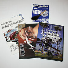 HOT ROD SURF ® MACK HOTRODSURF Pinstriping Art BRUSH DVD Book Movie DELUXE SET