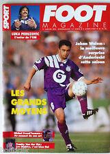 Foot Magazine du 11/01/1995; Johan Walem/ Luka Peruzovic/ Franky Van der Elst