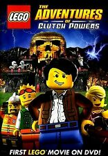 BRAND NEW DVD // LEGO:THE ADVENTURES OF CLUTCH POWERS// 82 min FULL LENGTH MOVIE