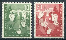 Bund 153 - 154 postfrisch Bundesjugendplan BRD 1952 MNH