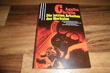 Agatha Christie -- die LETZTEN ARBEITEN des HERKULES POIROT // Scherz-Krimi 1980