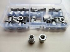 40pcs M6 ultra light model aircraft nuts aluminum furniture rivet nut T-nuts kit