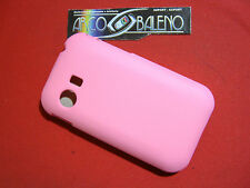 CUSTODIA COVER Per SAMSUNG GALAXY Y GT S5369 RIGIDO HARD CASE YOUNG ROSA S5360
