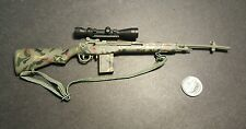 "1:6 Dragon Camouflage M14 Rifle 12"" GI Joe BBI DAM Hot Toys Soldier Story BHD"