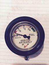 Interspiro 4500 Psi Pressure Gauge Breating Appa  P/N 336 890-109