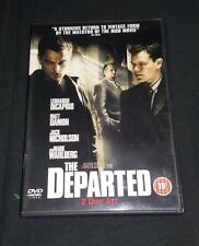 The departed DVD  2 Disc Set. Matt Damon, Jack Nicholson, Martin Sheen