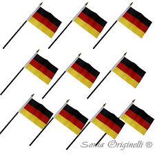 Fahne Flagge Germany 10 kleine Minifahnen Tischfahne Fähnchen FLAG6-Deutschland
