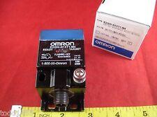 Omron E2QW-N15T1-M4 Proximity Sensor Switch 20-150v ac dc wfi SQ 15mm shld 3p