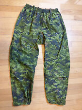 NEW CANADIAN MILITARY CADPAT H/W TROUSERS / RAIN PANTS - SIZE 6734