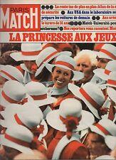 paris match n°1418 / la princesse aux jeux / 1976