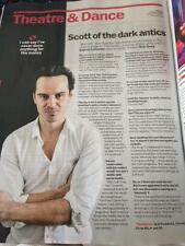 The Dazzle ANDREW SCOTT PHOTO INTERVIEW TIME OUT MAGAZINE DECEMBER 2015