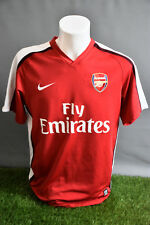 Arsenal Football Shirt Home Adult M 0810 Nike Soccer Jersey Camesita Trikot
