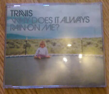 Travis - Why Does It Always Rain On Me - Australian CD with stickers - 668319 5