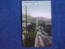 Hong Kong China/Peak Tramway/M Sternberg Printed Color Photo Postcard/Unposted