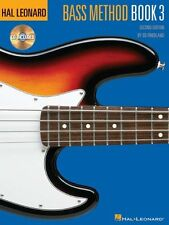 HALL LEONARD BASS METHOD BOOK 3 - CD INCLUDED