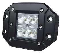 "4"" CREE SQUARE LED POD LIGHT LAMP CUBE OFFROAD BUMPER SPOT or FLOOD FLUSH MOUNT"