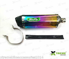 Twpo Triangle DB Killer Exhaust Silencer For Piaggio Vespa LX