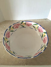 "Vintage Pottery Barn Large 13"" X 4"" Pasta Bowl Made in Mexico"