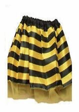 Childs Yellow & Black Striped Bumble Bee Tutu Fancy Dress Accessory P9557