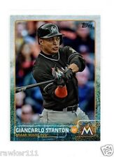 *2015 TOPPS GIANCARLO STANTON RAINBOW FOIL #150 NM-MINT*