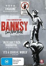 Banksy Does New York DVD NEW