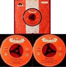 Single Jörg Maria Berg: Auf silbernen Wogen (Polydor 23 470) D