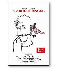 CARDIAN ANGEL BICYCLE DECK PLAYING CARDS & INSTRUCTIONS MAGIC TRICK CARTOON GAFF