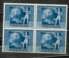 Germany WW2 Third Reich Map stamps Block 1943 MNH