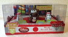 Disney Store CARS 2 Screamin' & Hollerin' Mater Wasabi Sushi Chefs Die Cast Set