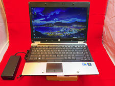 HP Elitebook 8440p 2.4GHz i5 Win7 4GB Good Battery 320GB HiRes HD+ 1600x900 WiFi