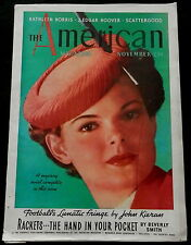 "The American Magazine November 1936 BUDWEISER AD - CLARK GABLE ""CAIN & MABEL"" AD"