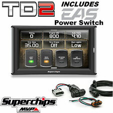 Superchips TrailDash2 TD2 42050 Tuner Programmer Monitor w/Power Switch Jeep JK