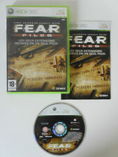 FEAR FILES (Extraction Point et Perseus Mandate) - MICROSOFT X BOX 360 - COMPLET