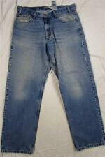Levi's Signature Relaxed Fit Denim Jeans Faded Tag Size 36x32 Measure 36x31