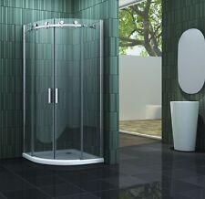 TECHNO-R 100 x 100 x 195 cm Glas Duschkabine Dusche Duschwand Duschabtrennung