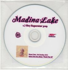 (GO944) Madina Lake, Hey Superstar - 2011 DJ CD