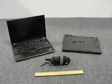 Lenovo ThinkPad X220 Laptop & Docking Station w/ Core i5, 4GB, 320GB HDD, Win 7