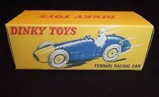 Dinky 23H Ferrari Racing Car Empty Repro Box