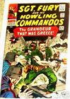 SGT. FURY 33 F+ SERGEANT 1963 SERIES & HIS HOWLING COMMANDOS NICK AGENT SHIELD